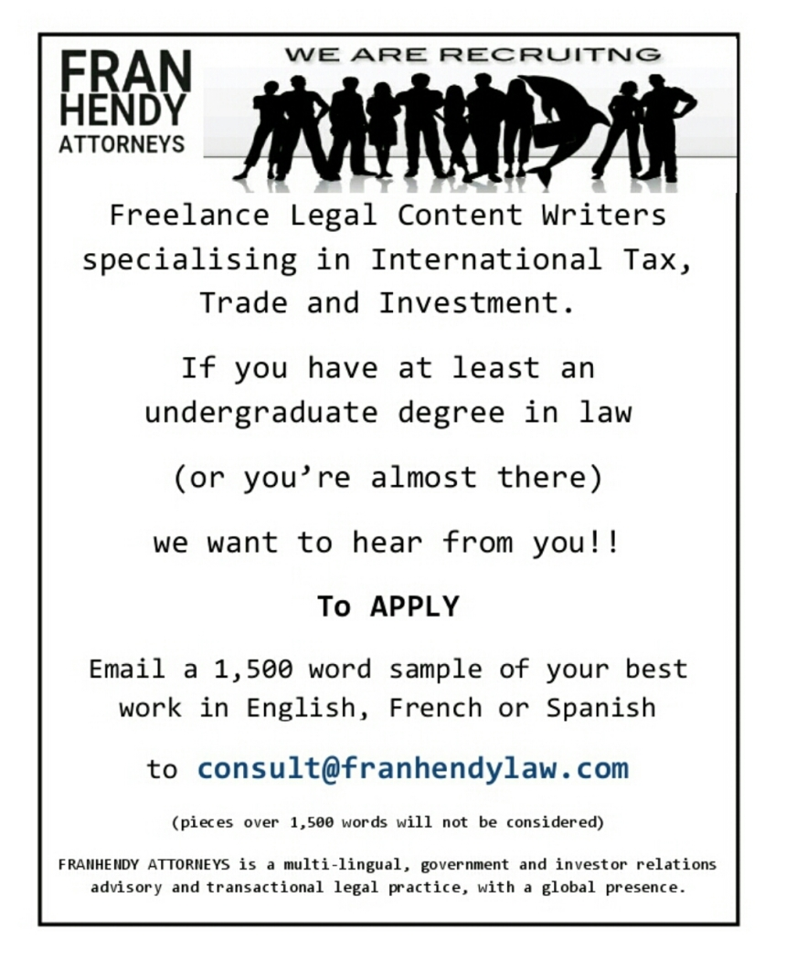 Recruitment AD FRANHENDY Attorneys
